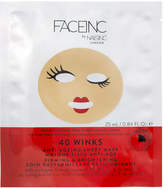 Nails Inc FACEINC by 40 Winks Anti-Ageing Sheet Mask - Firming and Brightening
