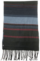Hudson North Striped Woven Scarf