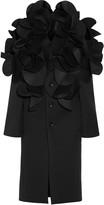 Junya Watanabe Ruffled neoprene coat
