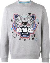 Kenzo Tiger x I Love You sweatshirt - men - Cotton - XL