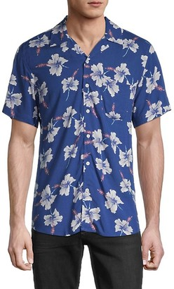 Sovereign Code Graham Graphic Print Short-Sleeve Shirt