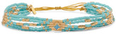 Chan Luu Gold-plated Turquoise Bracelet - One size
