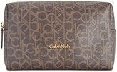Calvin Klein Monogram Medium Cosmetic Bag