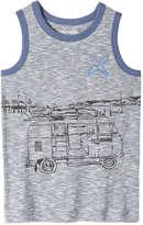 Joe Fresh Kid Boys' Print Tank, Dark Blue (Size L)