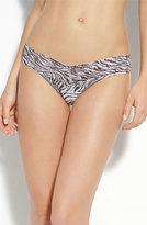 Hanky Panky Women's Zebra Print Low Rise Thong
