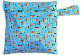 Charlie Banana Washable Diaper Tote Wet Bag - Under Construction by