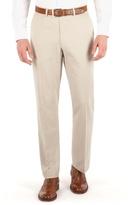 Karl Jackson Stone Linen Regular Fit Trouser.