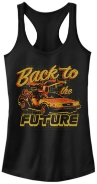 Fifth Sun Back To The Future Car Ideal Racer Back Tank