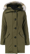 Canada Goose green rossclair parka
