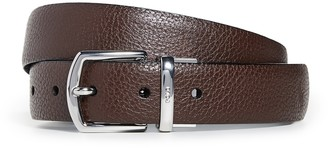 Polo Ralph Lauren 30mm Reversible Pebbled Leather Dress Belt