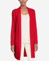 Lauren Ralph Lauren Cable-Knit Cardigan, A Macy's Exclusive