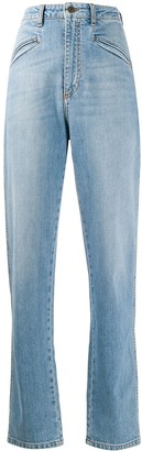 Philosophy di Lorenzo Serafini High-Rise Straight Leg Jeans
