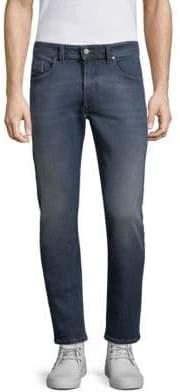 Diesel D-Thommer Washed Slim-Fit Jeans