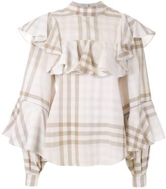 ALUF ruffled Lana blouse