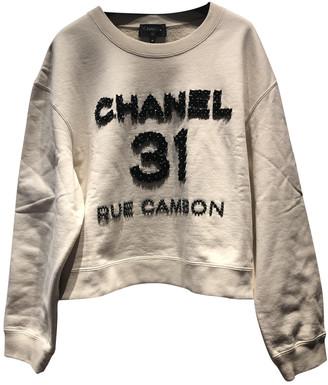 Chanel Ecru Cotton Knitwear