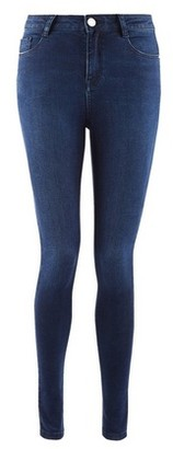 Dorothy Perkins Womens Indigo 'Shape And Lift' Stretch Skinny Jeans