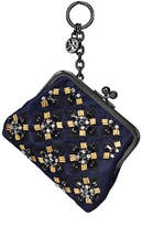 Tory Burch Jeweled Coin Pouch Key Fob