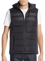 Calvin Klein Hooded Quilted Vest