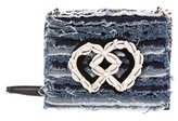 DSQUARED2 Embellished Denim Crossbody Bag