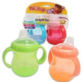 Luv N Care Nuby Grip N' Sip 2 Pack Sipper Cup - Colors May Vary by Luv N' Care