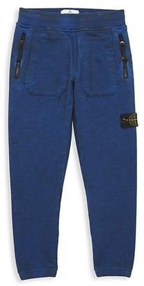 Stone Island Little Boy's & Boy's Fleece Pants