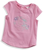 GUESS Short-Sleeve Floral Tee (12-24m)