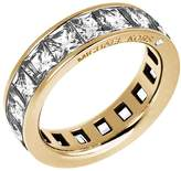 Michael Kors Baguette Crystal Gold-Tone Ring
