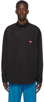 Balenciaga Black Large-Fit Shirt