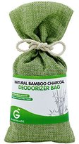 BUY MORE SAVE MORE Great Value SG Bamboo Charcoal Deodorizer Bag, Best Air Purifiers for Smokers & Allergies, Perfect Car Air Fresheners, Remove Smells for Home & Bathroom (Green)