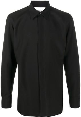 Jil Sander Button-Up Wool Shirt