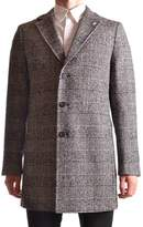 Manuel Ritz Men's Grey Wool Coat.