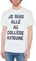 Kitsune Maison Kitsun? Slogan T-shirt