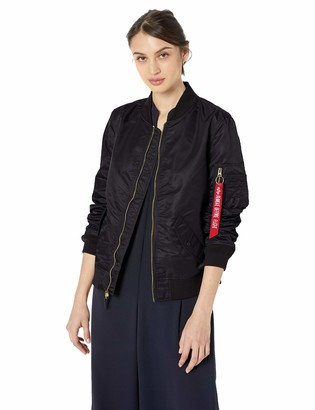 Alpha Industries Women's L-2B Laced Flight Jacket W