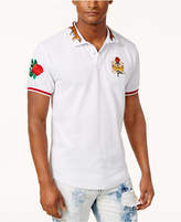 Reason Men's Embroidered Polo