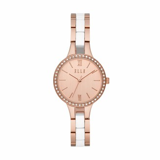 Elle Alesia Three-Hand Two-Tone Stainless Steel Watch