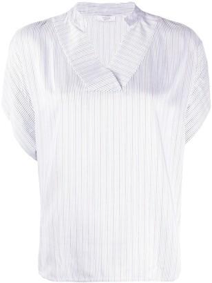 Peserico Short Sleeve Blouse