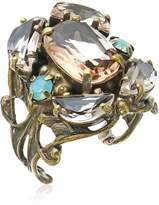 Sorrelli cutting Edge statement ring, size 7-9
