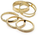 Kendra Scott Kara Midi Rings, Set of 5
