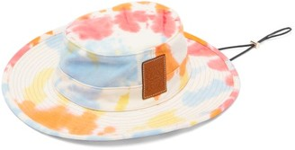 Loewe Paula's Ibiza - Explorer Tie-dyed Bucket Hat - Blue Multi