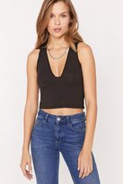 Truly Madly Deeply Tessa Plunging Tank Top