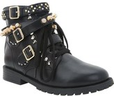 Nina 'Carmyn' Studded Buckle Strap Bootie (Little Kid & Big Kid)