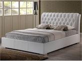 Asstd National Brand Baxton Studio Bianca Modern Bed with Tufted Headboard