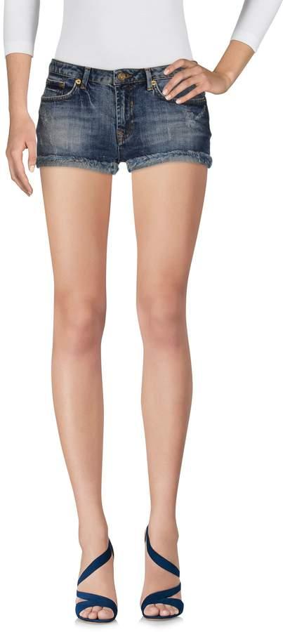 Bea Yuk Mui BEAYUKMUI Denim shorts - Item 42618673