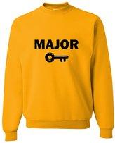 Go All Out Screenprinting Adult Major Key Sweatshirt Crewneck
