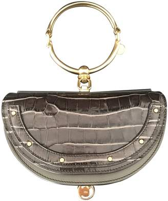 Chloé Bracelet Nile Navy Exotic leathers Handbags