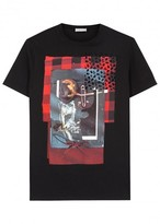 Dior Homme Scent Of A Poet-print Cotton T-shirt