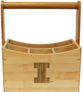 Illinois Fighting Illini Bamboo Utensil Caddy