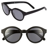 Raen Women's 'Flowers' 48Mm Sunglasses - Matte Black