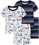 Carter's Boys 4-pc. Kids Pajama Set-Toddler