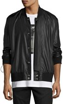 Public School Melvia Bomber Jacket, Black